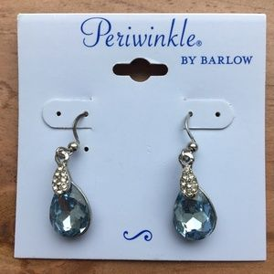 NWT Periwinkle by Barlow Aqua Blue Earrings